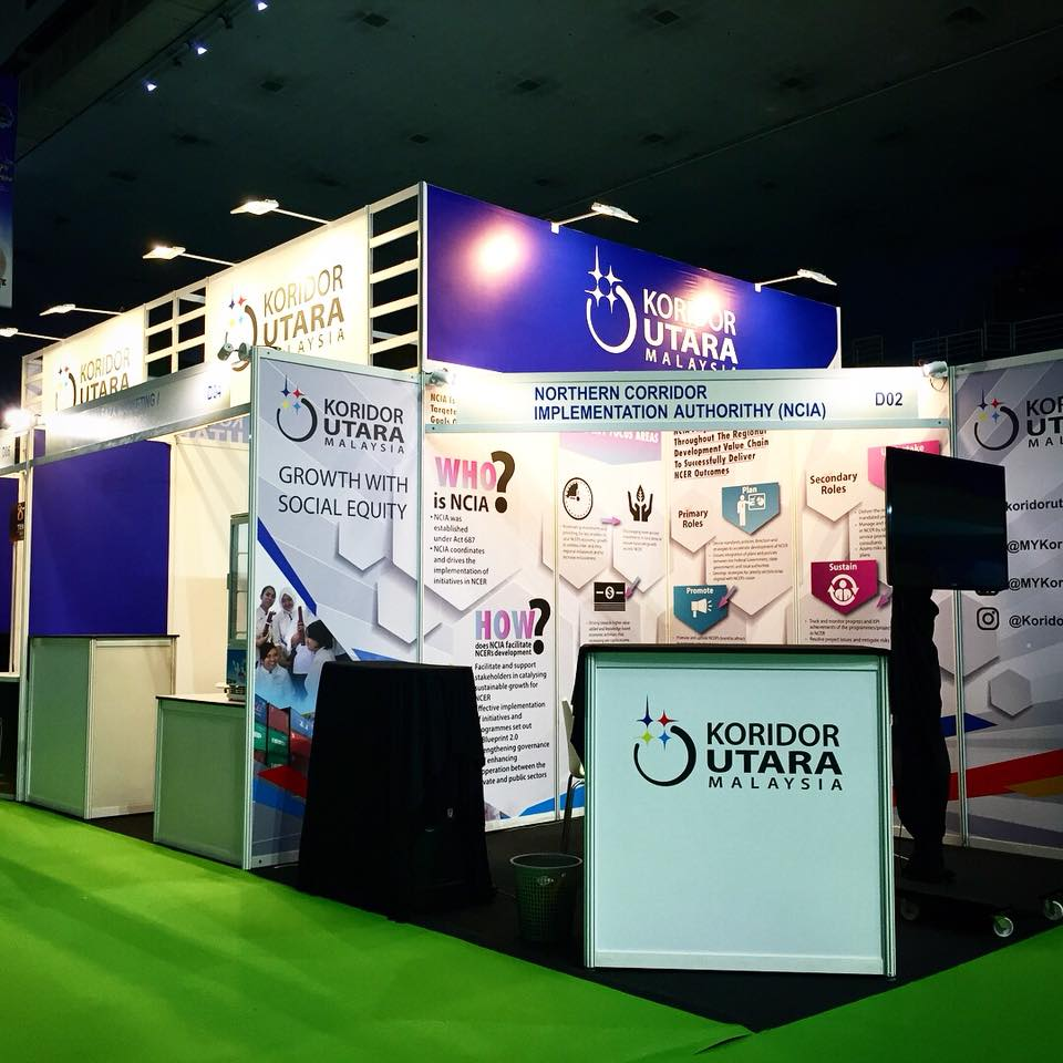 professional event booth design Malaysia- Creative Digest International