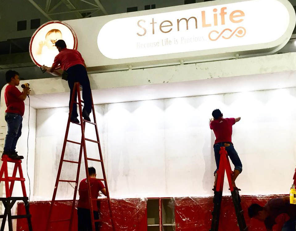 deliver, install, dismantle service for event booth- Creative Digest International