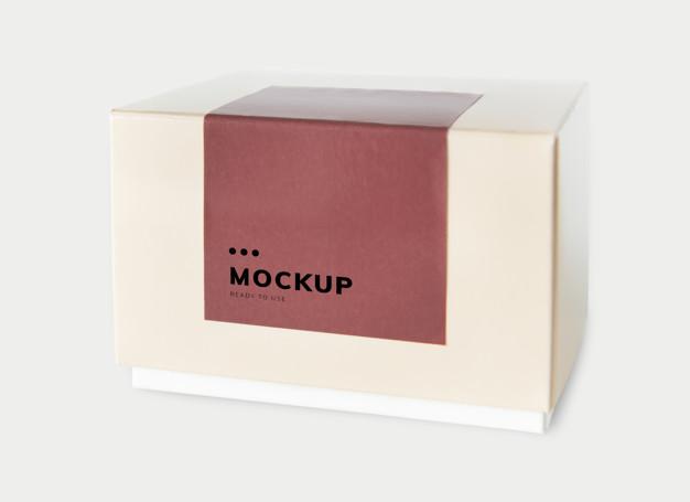 paper box mockup- Creative Digest International